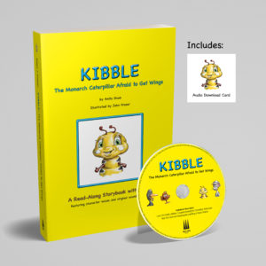 children monarch caterpillar book kibble by anita gnan